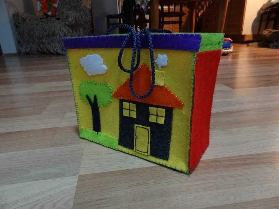 DIY felt bag