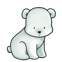 Oso Polar Dibujos De Animales Dibujos Bonitos De Animales Oso