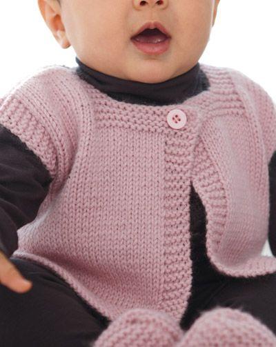 free knitting pattern: boys baby clothes models tricot bebe Pinterest K...
