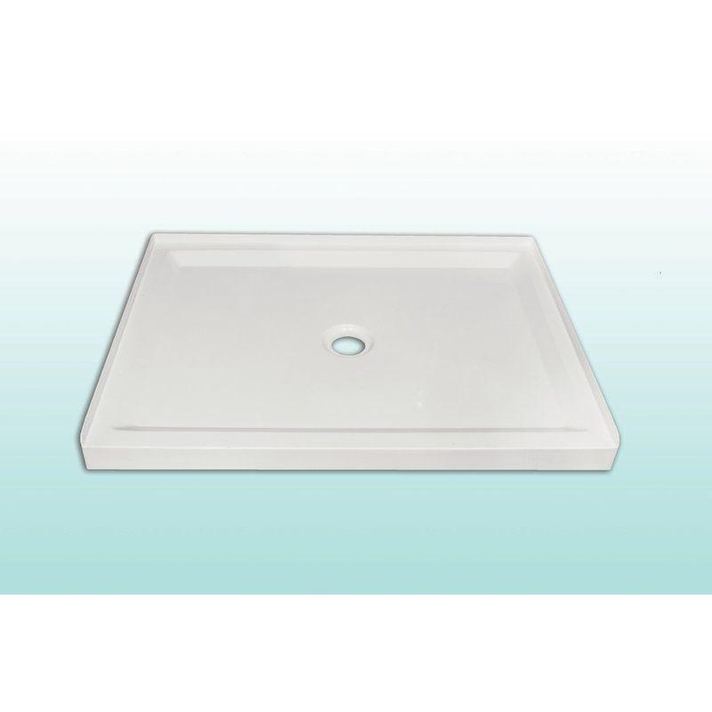 Base 48 x 36 single threshold shower base shower base
