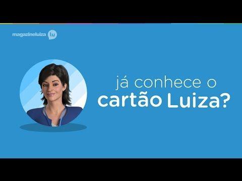 Cartão Luiza, o cartão cheio de vantagens do Magazine Luiza! Peça já o seu! https://www.magazinevoce.com.br/magazinevipchic Magazine Luiza, sua loja na internet!