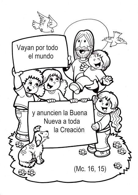 El Rincon De Las Melli Escuela Dominical Para Ninos Biblia Para Ninos Ninos Cristianos