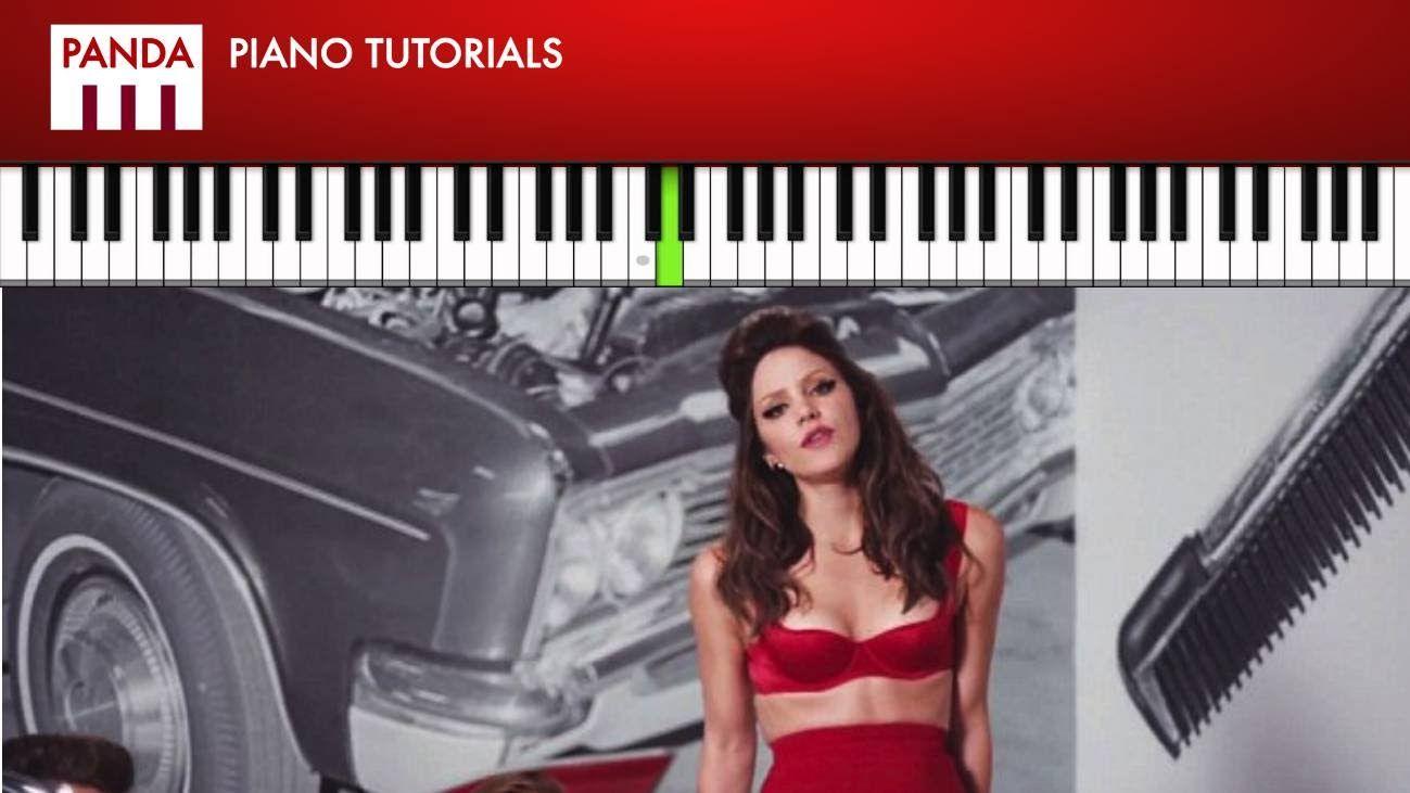 "Katharine Mcphee - ""Lick My Lips"" (How To Play Piano Tutorial Chords & Melody)"