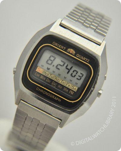 Orient G611105 41 Vintage Watches Digital Watch Orient Watch