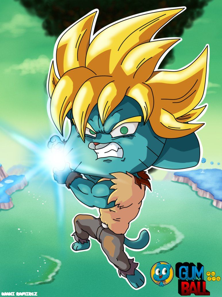 Gumball The Super Saiyan By Waniramirez The Amazing World Of