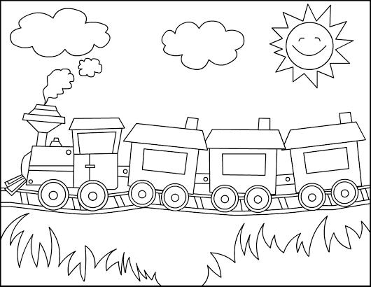 Resultado De Imagen Para Tren Dibujo Quite Book Tren Para