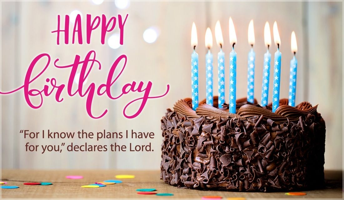 Jeremiah 2911 Happy Birthday Happy birthday ecard