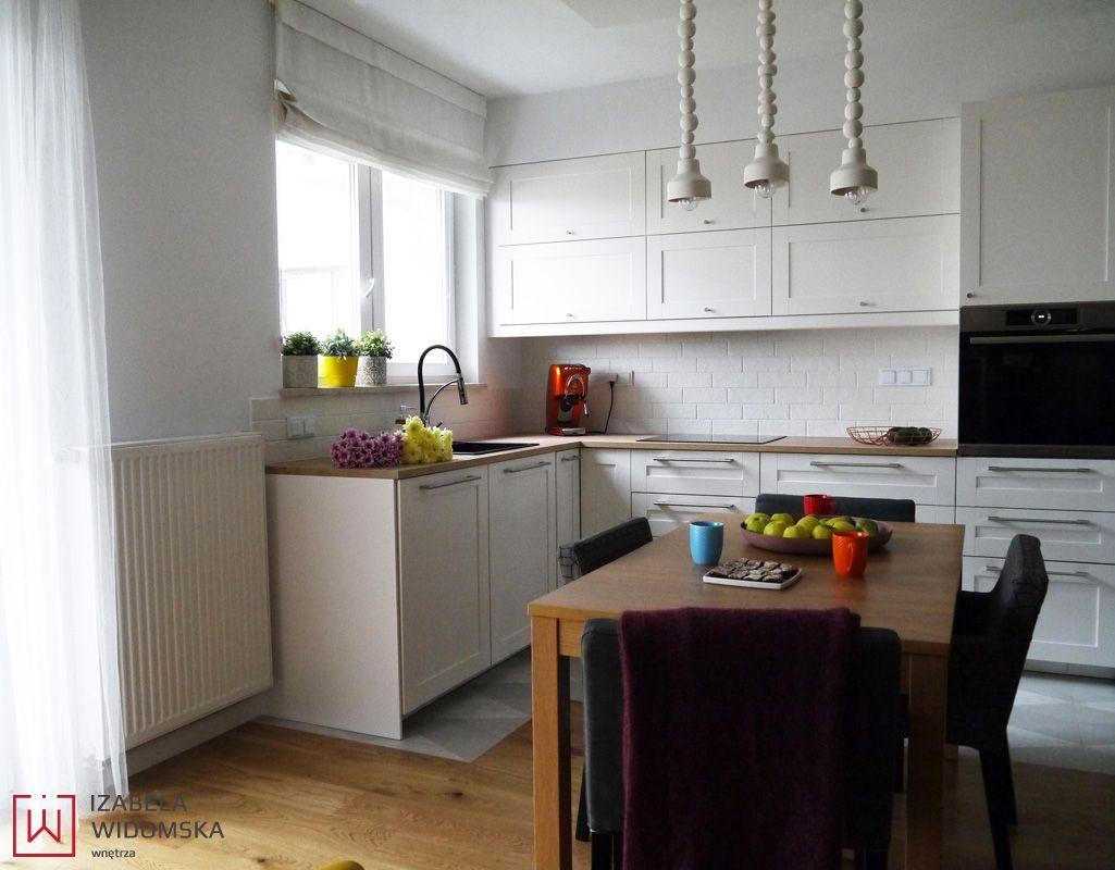Mieszkanie W Pastelowych Kolorach Architekt Izabela Widomska Projektowanie Wnetrz Warszawa Kitchen Decor Home Decor
