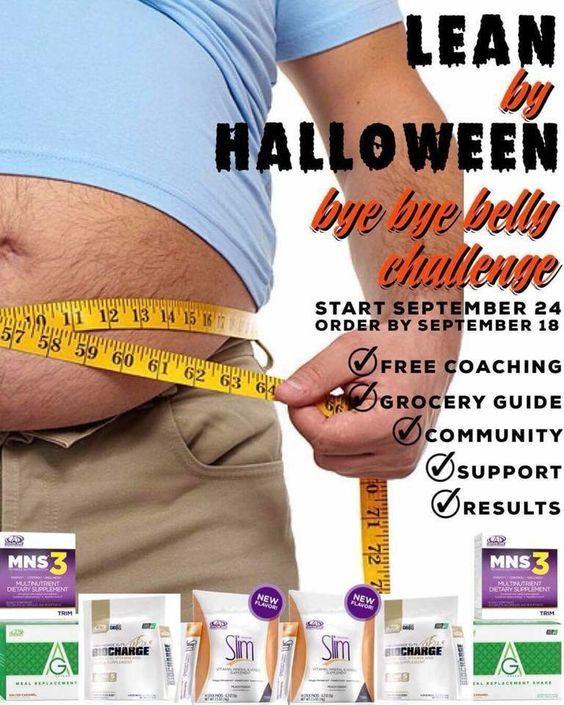 Bye bye belly challenge advocare