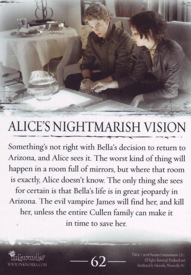 #TwilightSaga #Twilight - Alice's Nightmarish Vision #62