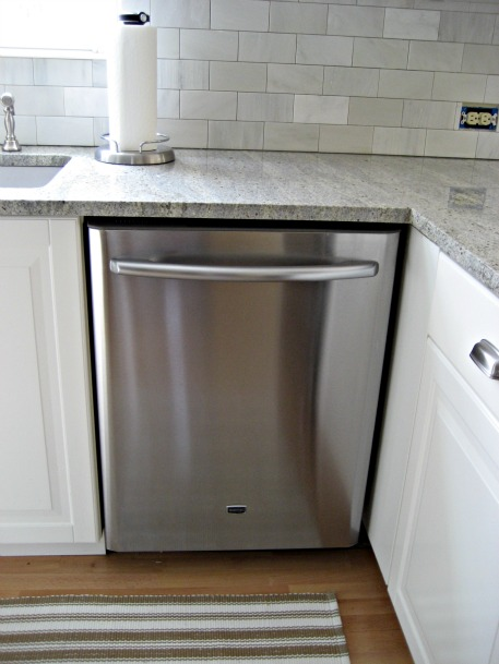 How To Clean Stainless Steel Appliances The Easy Way! Kitchenaid  DishwasherCountertop DishwasherCleaning ...
