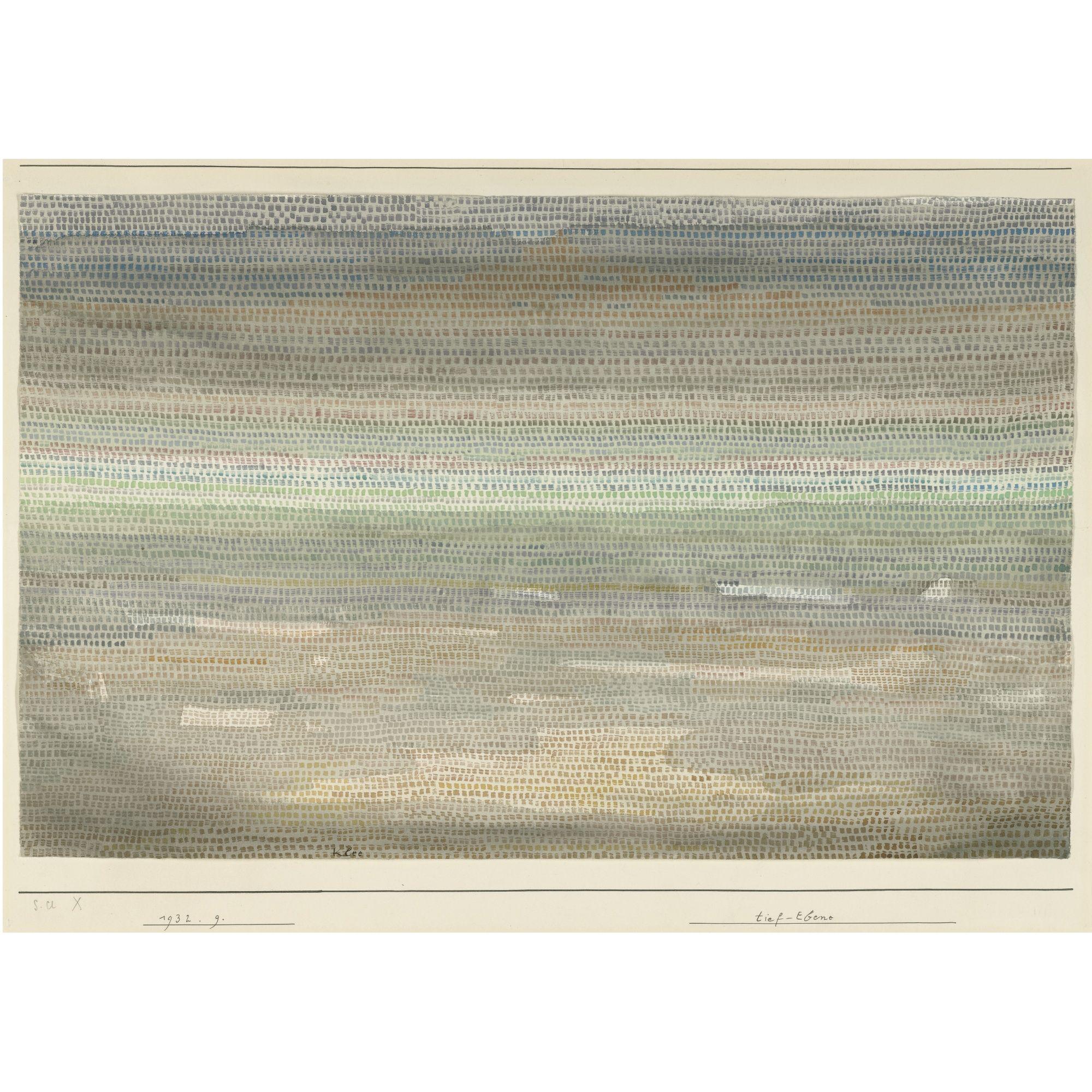 Paul Klee: Lowlands, 1932 (Sotheby's)