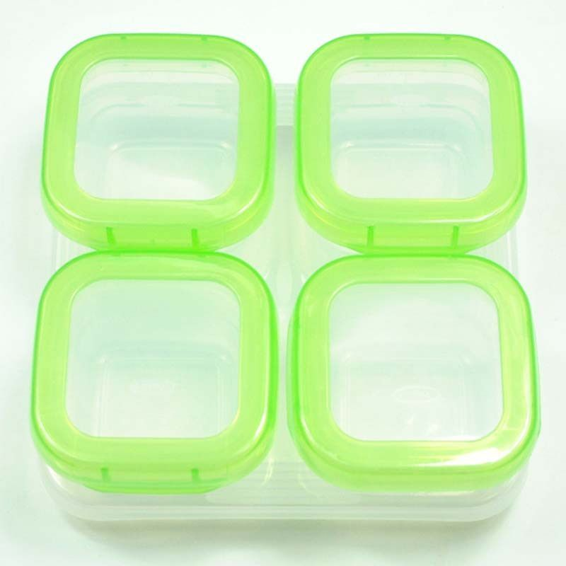 120ML Baby food supplement storage boxFood Containersnack box
