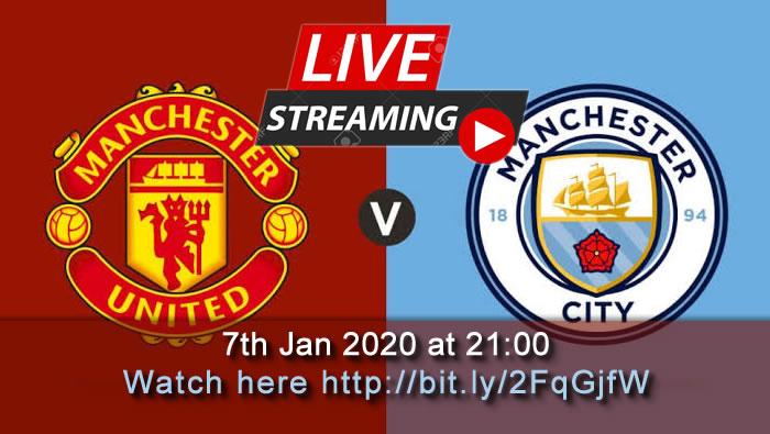 Live Football Streaming Man Utd Vs Man City 7th Jan 2020 League Cup Football Streaming Live Football Streaming Football Highlight