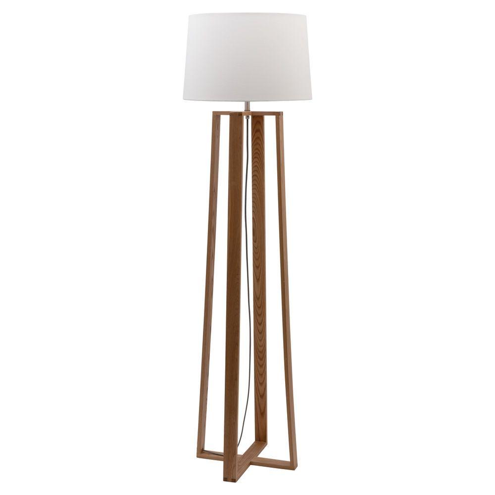 Liteworks Samson Timber Floor Lamp Base Only Masters Home