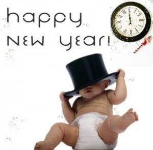 funny happy new year baby wallpapers