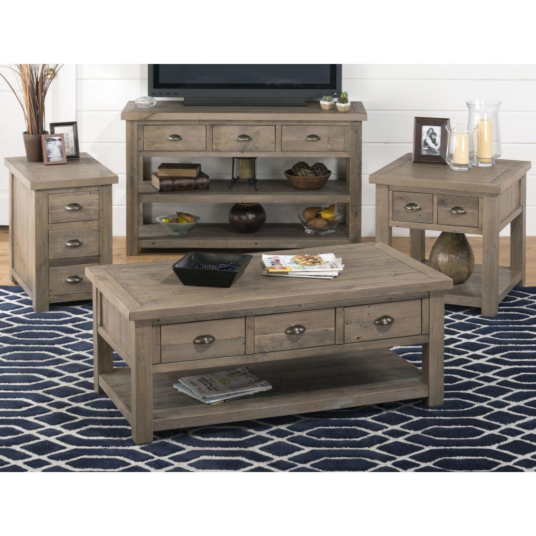 Coffee Table Sets  sc 1 st  Pinterest & Jofran Slater Mill Coffee Table Set \u0026 Reviews | Wayfair | Rustic ...