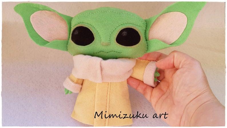 Star Wars The Mandalorian The Child 22CM Plush Toy Baby Yoda Doll Xmas Gift
