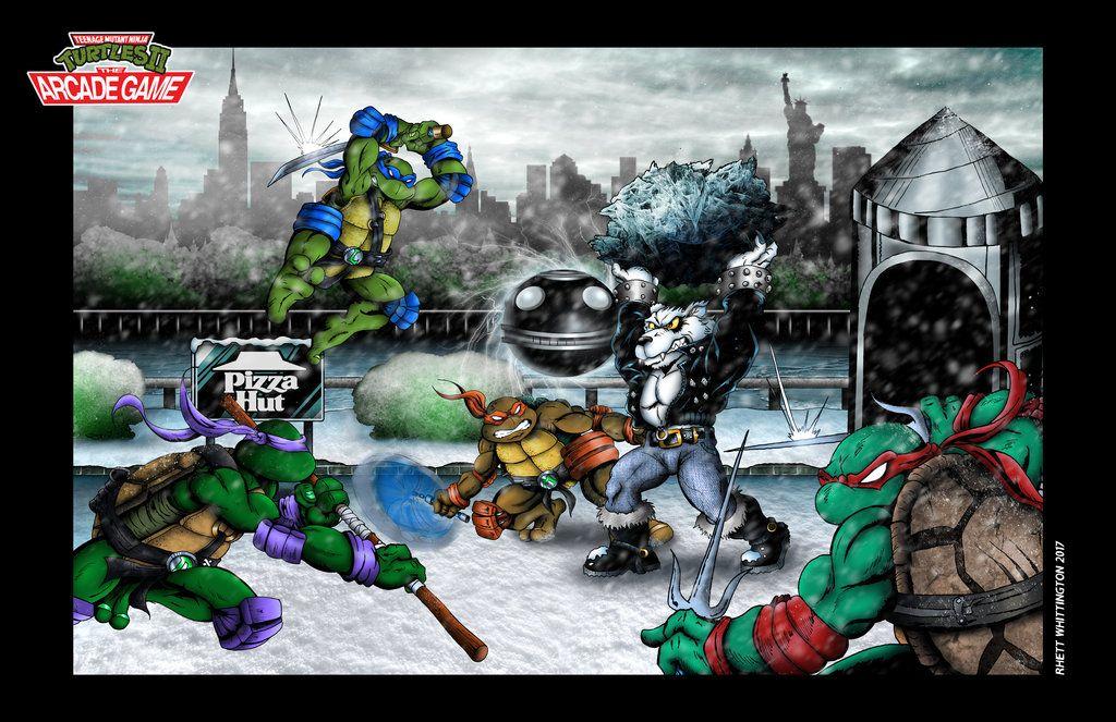 Turtles 2 Snow Level Official Poster By Whittingtonrhett Tmnt Art Turtle Tmnt