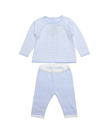 000bea117 Angel Dear 2 Piece Sweater Gift Set Outfit Set Baby Boys Country Cable Pale  Blue 03 Months *** Want to know more, click on the image.