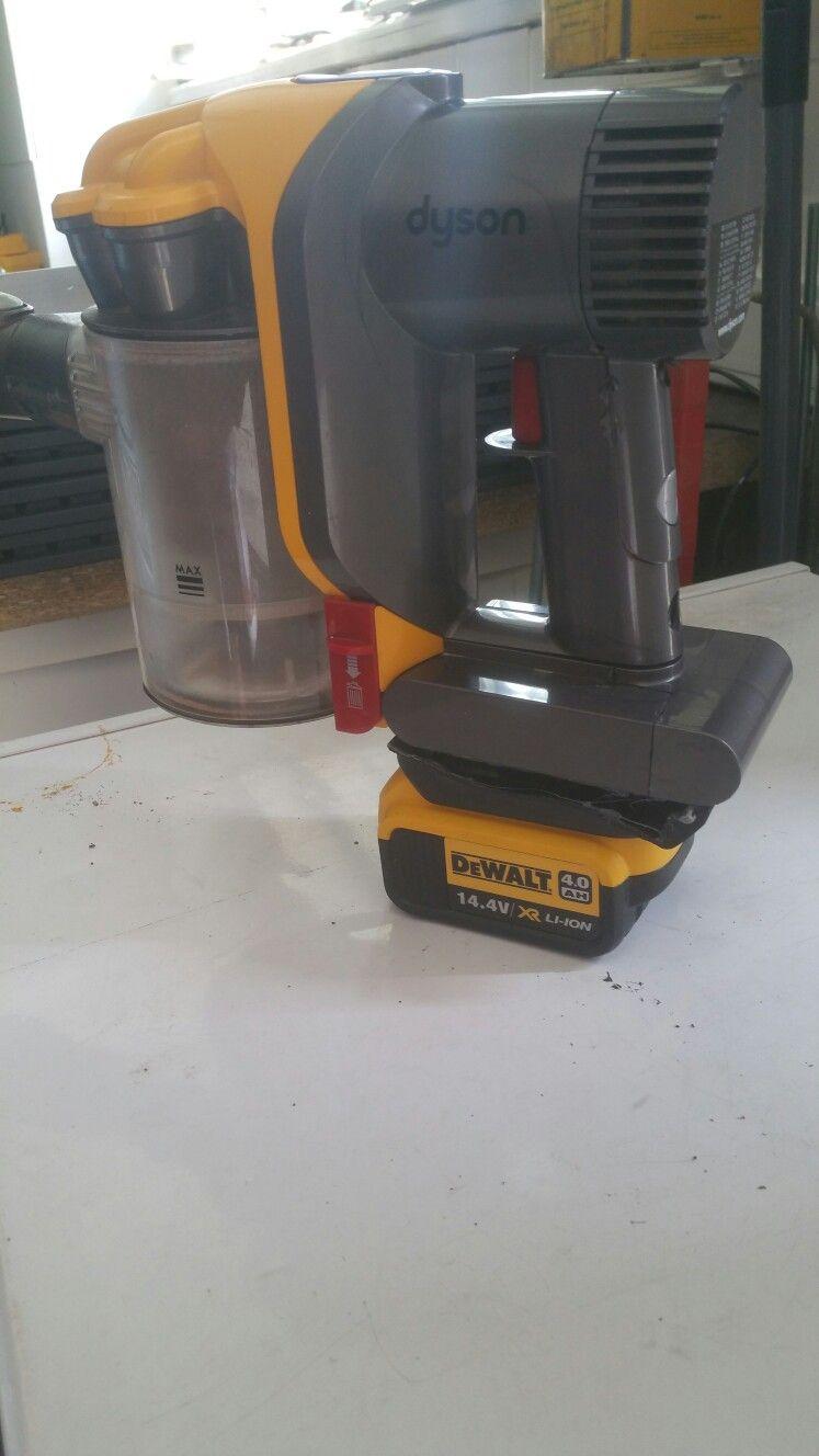 Dewalt Home Made Battery Adapter For Dyson Dewalt Dyson Battery Adapter