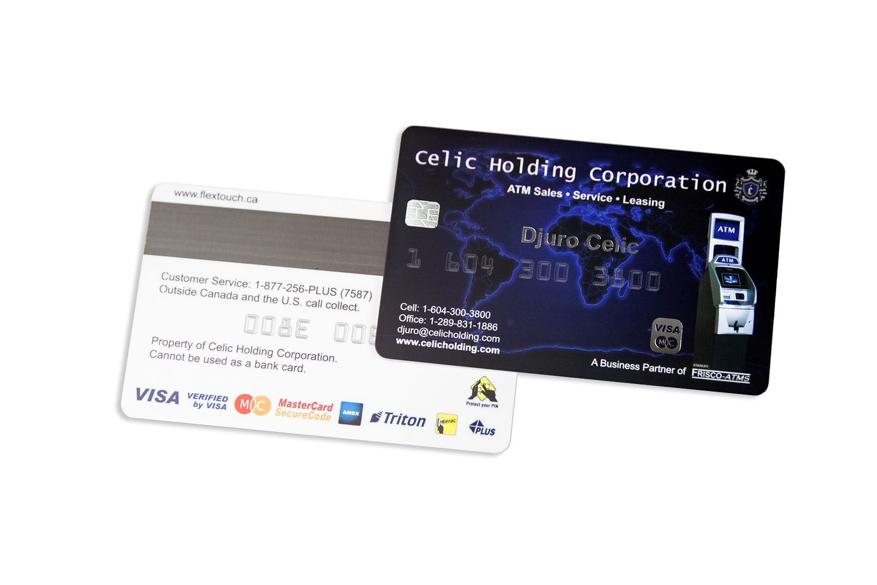 Embossed cards what do you put on your business card you should celic holding corporation business cards colourmoves