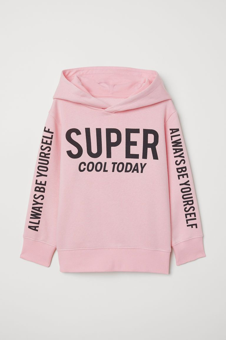 Hoodie Light Pink Super Cool Kids H M Us Sweatshirts Hooded Sweatshirts Yellow Hoodie [ 1152 x 768 Pixel ]