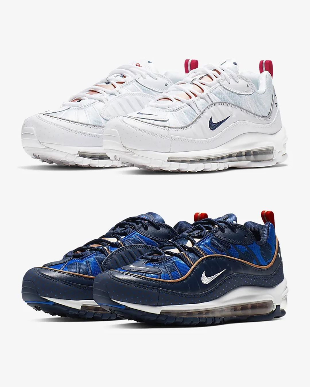new product 6adca b56c2 The NIKE WMNS AIR MAX 98 UNITE TOTALE are now available ...