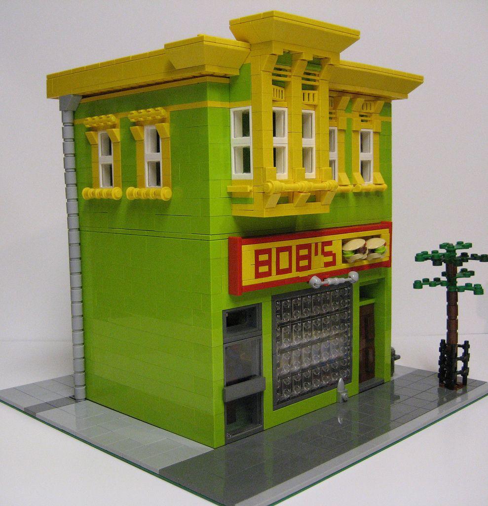 Real Life Lego House Plasmachilds Lego Bobs Burgers Bobs Burgers Pinterest Bobs