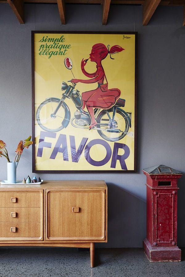 australian home, vintage australian style, vintage wall art