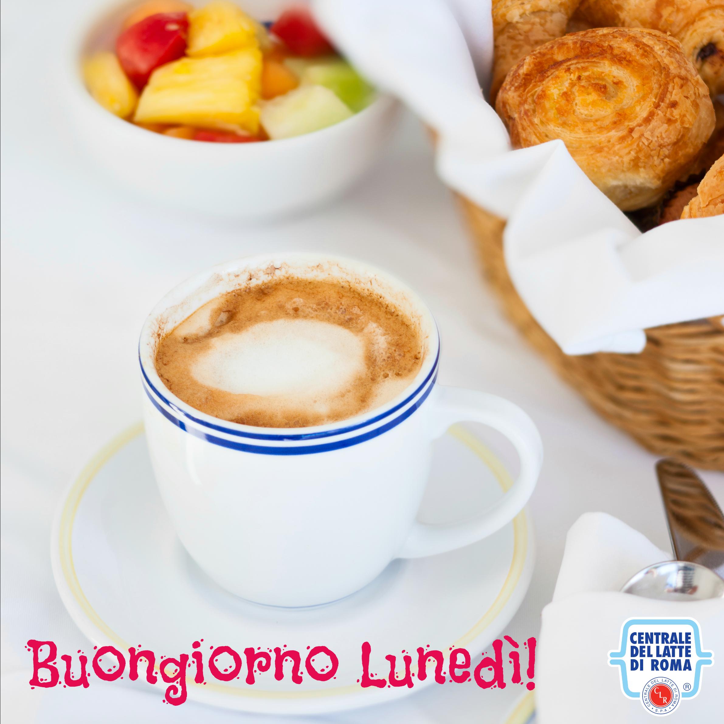 Buongiorno luned colazione con cappuccino brioche e for Buongiorno con colazione