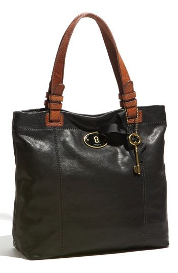 Fossil  Penelope  Glazed Leather Tote  149.90