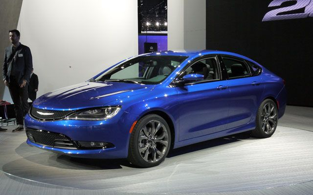 Detroit 2014 2015 Chrysler 200 Chrysler 200 Chrysler Dodge