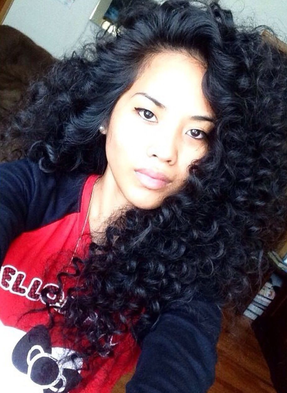 16 Fascinating Asian Hairstyles Pretty Designs Curly Hair Styles Hair Waves Hair Styles