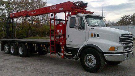 Fassi F300SE Knuckle Boom for sale on Sterling Truck - Crane