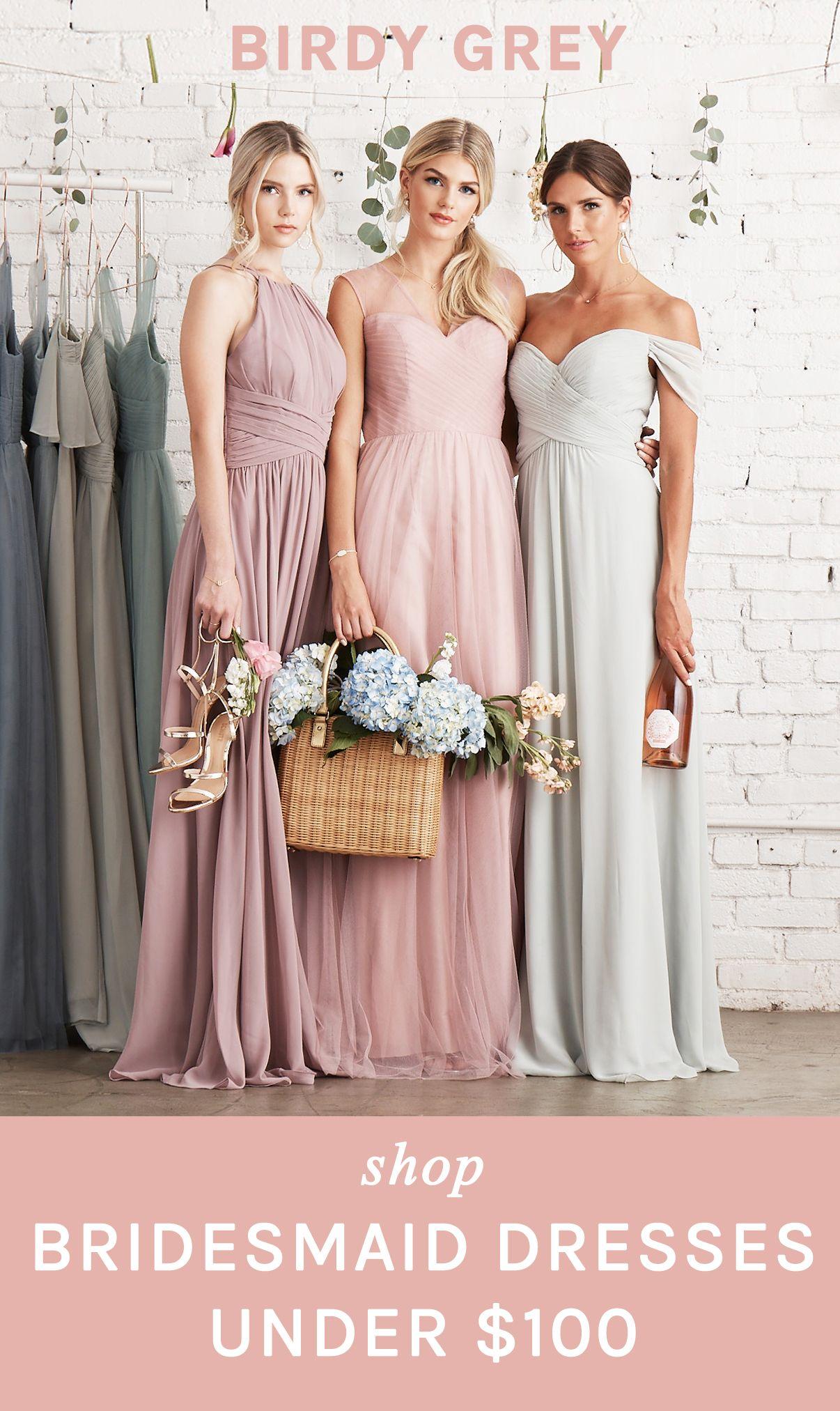 Shop fresh, flattering bridesmaid dresses
