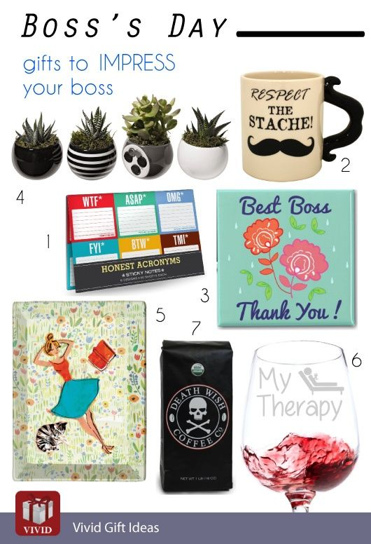 Top 10 Gifts To Impress Your Boss On Boss Day 2019