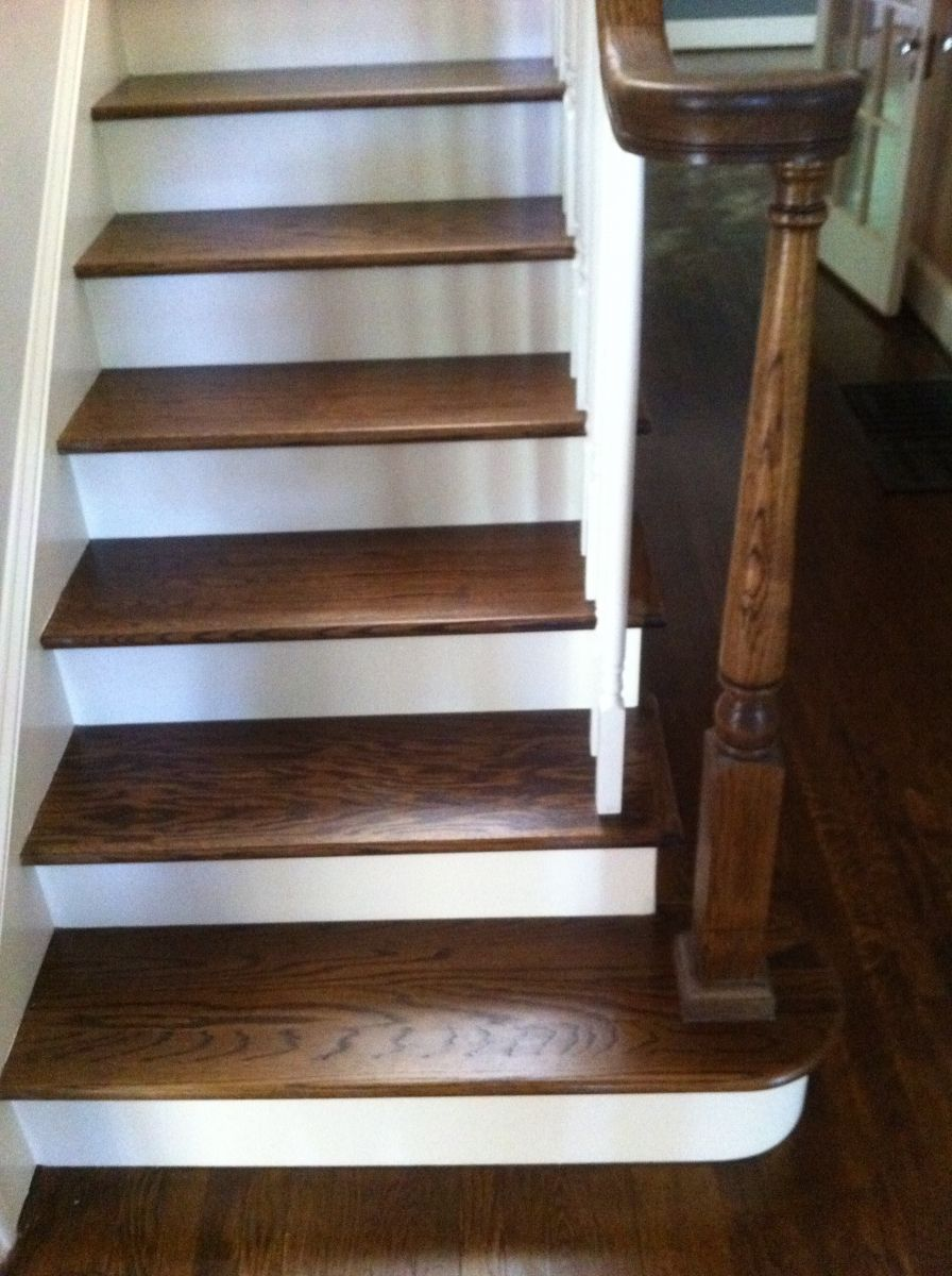 Best Atlanta Stairs Stair Treds Refinishing Hardwood Stair 640 x 480