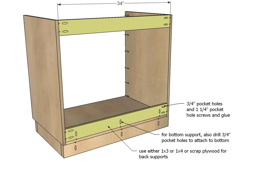 How To Make Kitchen Base Cabinets Building Kitchen Cabinets Kitchen Cabinet Plans Kitchen Base Cabinets