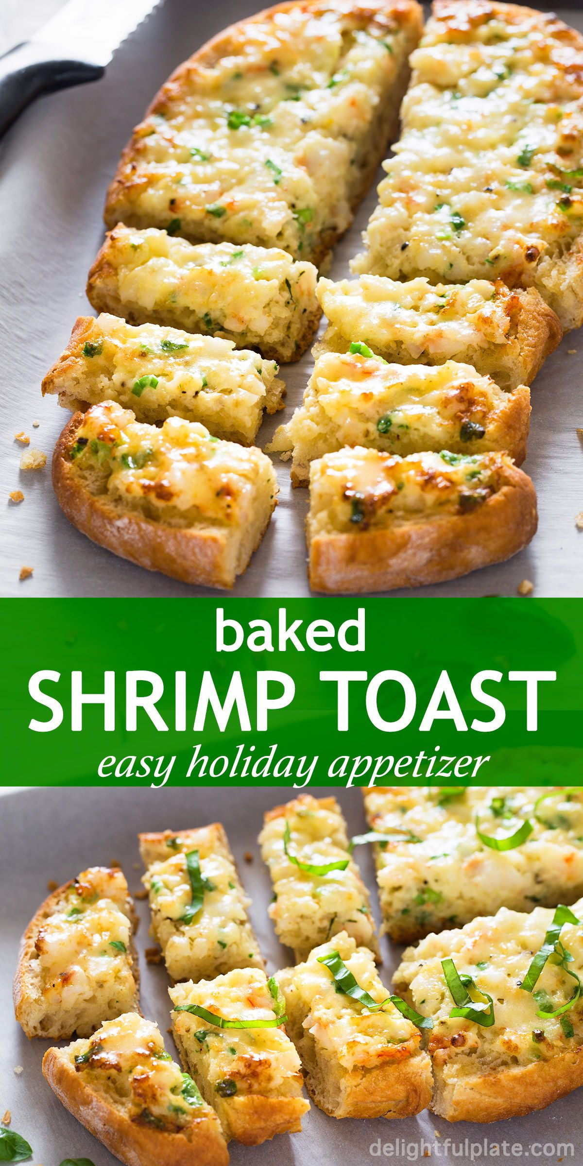 Photo of Easy Baked Shrimp Toast