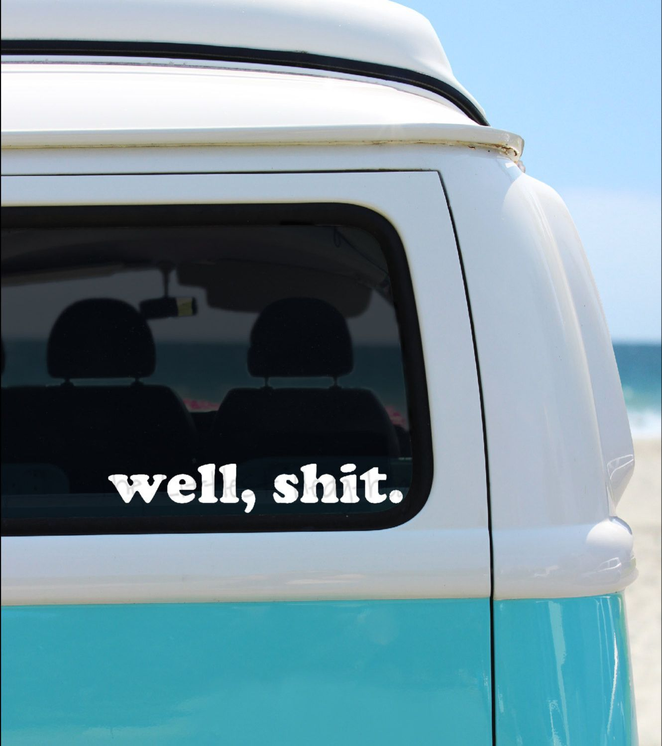 Decal funny car decal humor window decal
