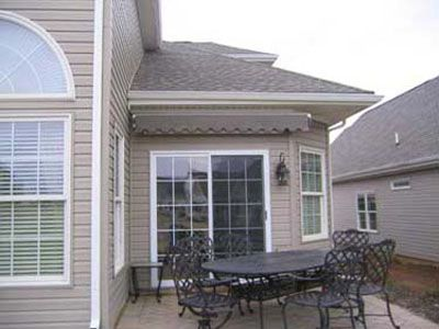 Awnings for small spaces too. | Outdoor decor, Retractable ...