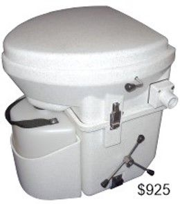 Nature\'s Head Composting Toilet with Spider Handle | Casas rodantes ...
