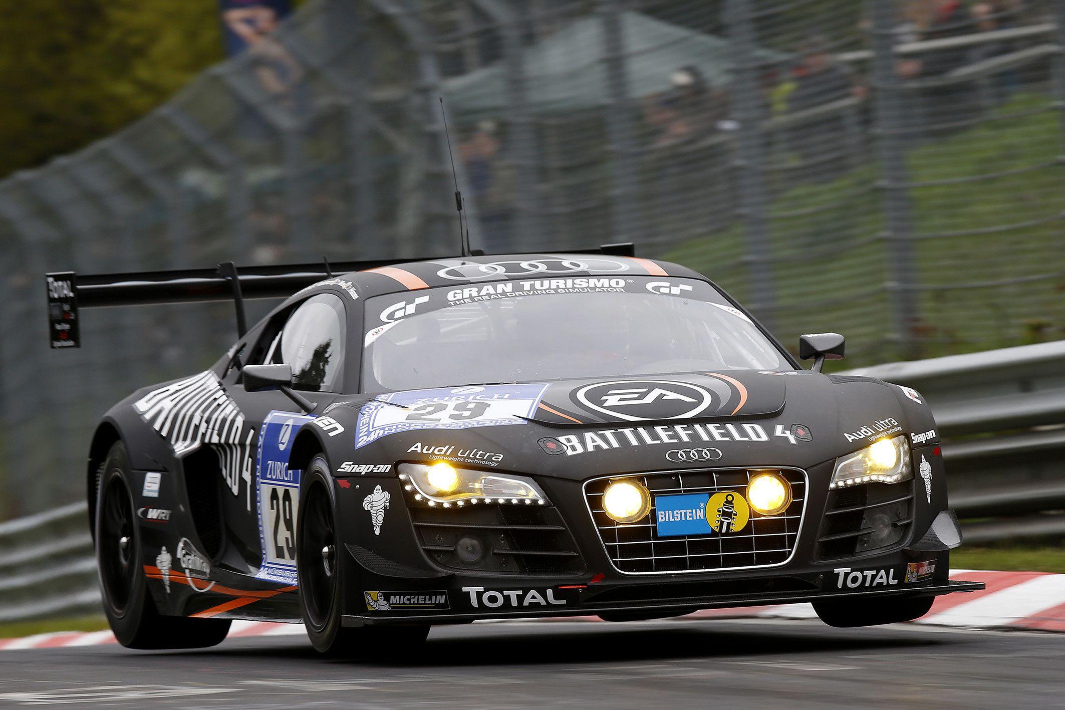 Audi R8 Gt3 Race Car Battlefield 4 Team