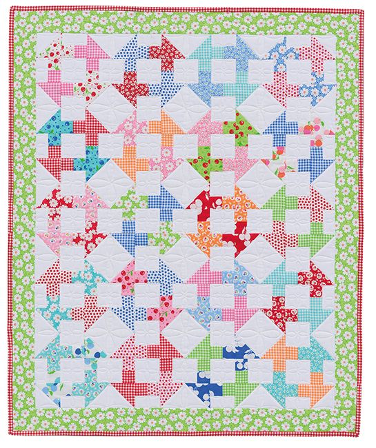 Pretty Fabrics Make a Lovely Little Quilt Charm pack