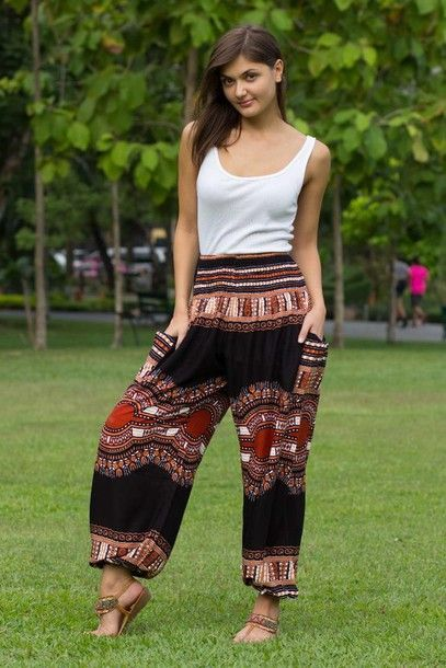 Image result for hippie pants outfits
