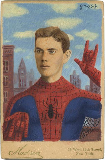 Grosse Kunst | Vintage Superhelden
