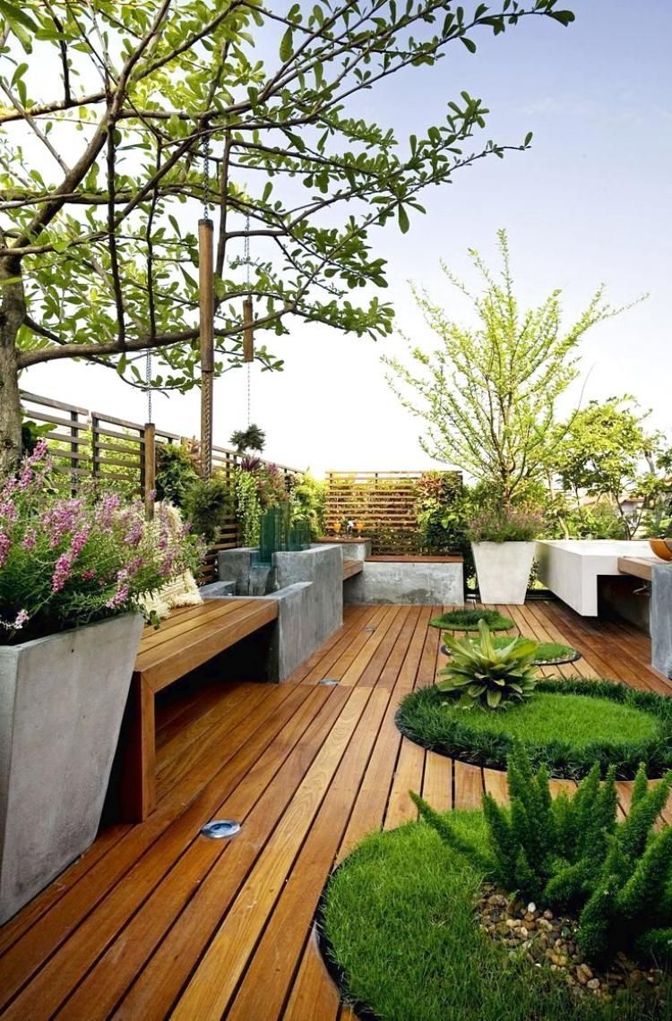 20 Amazing View From Rooftop Garden Design Ideas Roof Garden Design Rooftop Design Roof Terrace Design