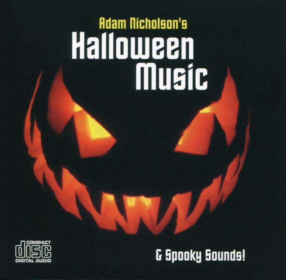 halloween music spooky sounds cd featuring fantasma de la caja de msica halloween