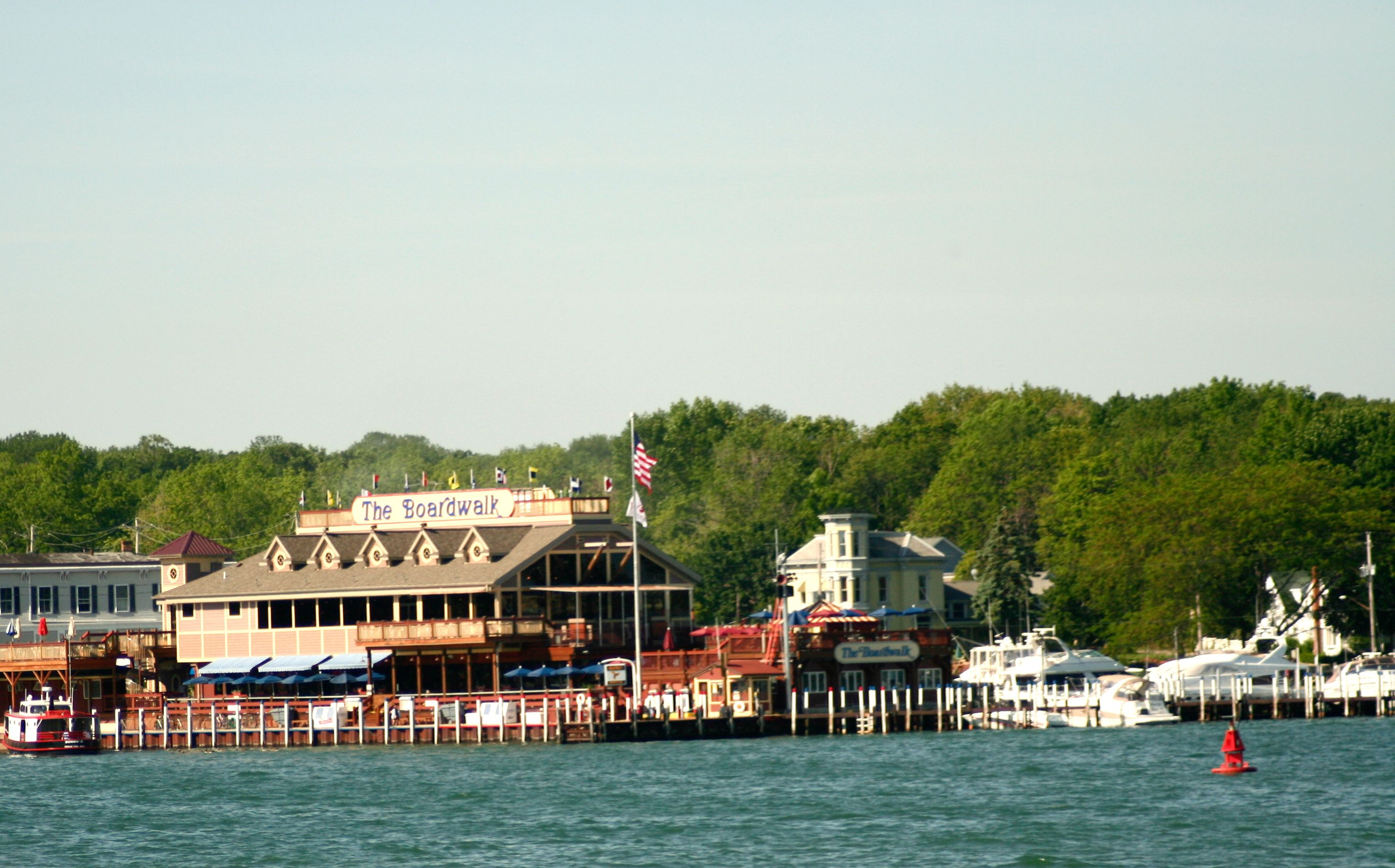 Boardwalk Lake Erie Put N Bay Ohio | Places I have visited